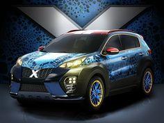Kia Sportage Wrapped to Advertise X-Men: Apocalypse - Kia Trailster Forum
