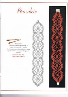 LABORES DE BOLILLOS 043 – Almu Martin – Webová alba Picasa Bobbin Lace Patterns, Crochet Patterns, Bobbin Lacemaking, Lace Bracelet, Cross Stitch Needles, Lace Heart, Parchment Craft, Point Lace, Lace Jewelry