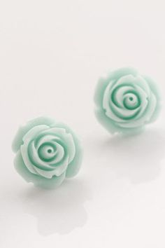 I have rose pink ones just like these! But the mint is adorable!