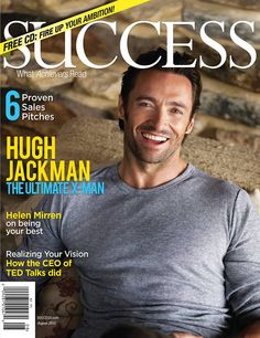 Hugh Jackman is simply gorgeous. Hugh Jackman with facial hair is Va va voom Hugh Jackman, Hugh Michael Jackman, Hugh Wolverine, Pretty People, Beautiful People, Celebridades Fashion, Tv Star, Eye Candy, Hommes Sexy