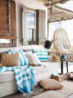 Un #porche a la sombra: Claves deco para mantener la casa fresca