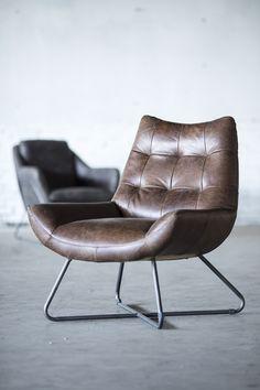 Relaxen? Dat doe je op deze comfortabele fauteuil van Eleonora!
