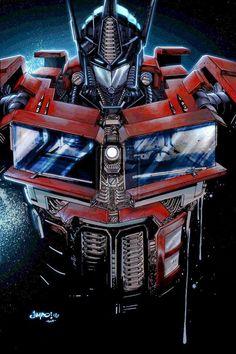 Transformers - Optimus Prime by Jimbo Salgado. Watch Age of Extinction! https://www.youtube.com/watch?v=B5jowE7RHFA More