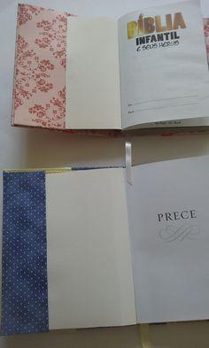 Capa de livro ou agenda ou bíblia em cartonagem