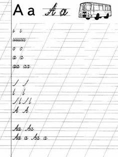 Учимся писать по русски / Буква А / Скачать