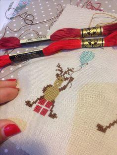 Christmas deer cuore e batticuore