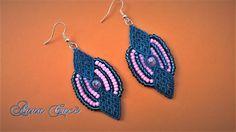 "Tutorial macramè orecchini ""Alexia""/ Tutorial macramè earrings ""Alexia""/..."