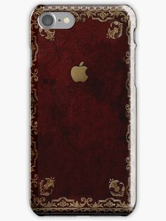 Buy 'Apple Antique Leather Book Cover' by goodedesign as a iPhone Case/Skin or Case/Skin for Samsung Galaxy