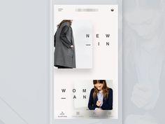 Dribbble - Clothing Shop App by Ruslan Siiz