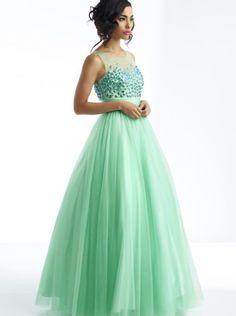 A-line Blue Formal Dress/ Plus Size Prom Dress Evening Dress Riva R9742