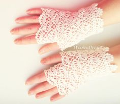 Milk White Bridal Gloves Wedding Fingerless Gloves Crochet Lace Vintage Summer Gloves Victorian Lace Mitts Women's Gloves Bridesmaid Gift Cotton Gloves, Lace Gloves, Crochet Gloves, Women's Gloves, Crochet Lace, Fingerless Gloves, Mercerized Cotton Yarn, White Bridal, Wedding White