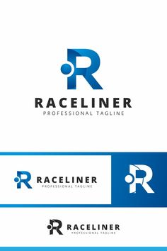 Raceliner R Letter Logo: multifunctional logo that can be used in technological companies, in companies and applications for software development, construction Data Logo, Web Studio, Typography, Lettering, Flat Illustration, Letter Logo, Business Names, Logos, Logo