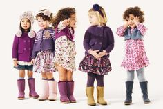 fall kids outfits | 1001 fashion trends: Benetton Fall 2012 Kids Clothing