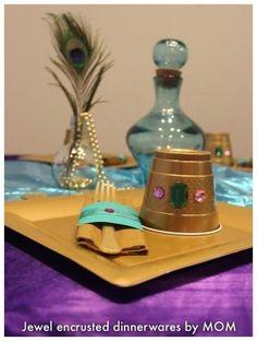 Princess Jasmine's Shining, Shimmering Splendid Party for Kryster ♦ℬїт¢ℌαℓї¢їøυ﹩♦ Indian Birthday Parties, Aladdin Party, Disney Princess Birthday Party, Birthday Party Themes, Birthday Ideas, Jasmin Party, Princess Jasmine Party, Princess Sophia, Arabian Party