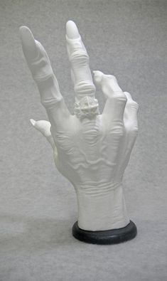 VAMPIRE / DRACULA HAND. Guitar Hanger white. Display by DeathGrips  HOLY CRAP I NEED THIS FOR MY GUITARS!!!!!!!!