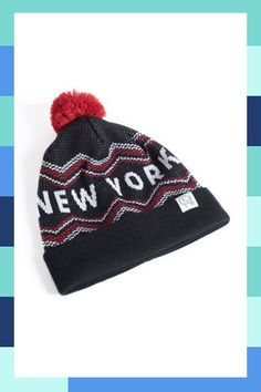 So into this design on Fab! New York Retro Ski Beanie Classic Throws, Cool Beanies, Mohawk Styles, Stuff To Do, Cool Stuff, Girl With Hat, Boy Fashion, Classic Style, Skiing