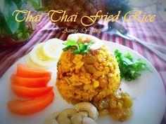 Aunty Young(安迪漾): 泰式黄梨炒饭 (Thai Pineapple Fried Rice)