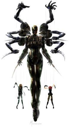 Metal Gear Solid Screaming Mantis