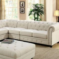Stanford II Sofa Chair, Ivory Fabric By Casagear Home Chic Home Decor, Modern Sofa Living Room, Furniture, Living Room Designs, Living Room Sofa, Elegant Home Decor, Shabby Chic Furniture, Living Room Furniture, Chic Furniture