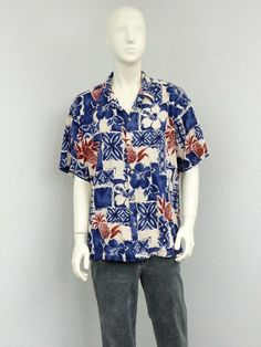 4th of july aloha shirt