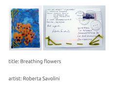 Flower Artists, Mail Art, Flowers, Royal Icing Flowers, Flower, Florals, Bloemen, Blossoms, Letter Art