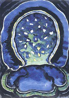 Georgia O'Keeffe 1887 - American Modernist Painter Georgia O'Keeffe, Sunrise, 1916 It was through Alfred Stieglitz . Watercolor, Art Curriculum, Artist, Georgia Okeefe, Painting, New York Art, Abstract, Georgia O Keeffe, American Artists
