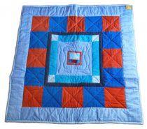 Hrací deka patchwork / Loďka