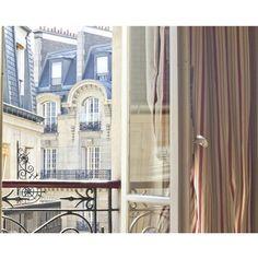 drape + door   via Lovely Living in Paris ~ Cityhaüs Design