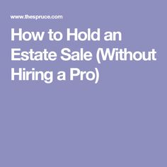sell estate