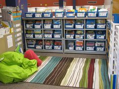 the most organized classroom I've ever seen