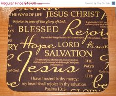 SALE  Computer Mouse Pad / Mat  Christian Inspirational by Laa766, $9.00   chic / cute / preppy / teacher / student / laptop accessory / desk accessory / office decor / graduation / dorm / gift