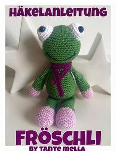 Häkle Dir jetzt gratis einen grasgrünen Frosch. Du brauchst nur Wolle, die PDF-Anleitung und eine passende Häkelnadel + dann ist Dein Frosch bald fertig.