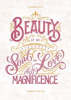 26 Stunning Hand-Lettering & Calligraphy Designs