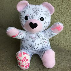 Save your baby or loved one's favourite clothing or blanket forever by having them made into a one of a kind keepsake memory bear! /product/keepsake-memory-teddy-bear-upcycled-from-your-own-fabric-baby-clothes-outfit-baby-blanket