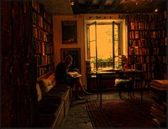 """"""" Shakespeare and Company - Antiquarian Bookstore by Boiling Point Photography """" Little Library, Dream Library, Cozy Library, I Love Books, Books To Read, Reading Books, Shakespeare And Company Paris, The Secret History, Life Is Beautiful"""