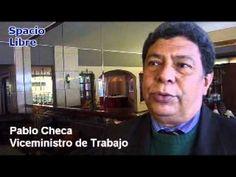 El viceministro de Trabajo Pablo Checa, comenta a Spacio Libre los alcances y expectativas de la Agenda Laboral entregada por las centrales sindicales peruanas a su despacho.