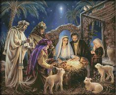 Vind meer Kruis- steek informatie over Geboorte van Jezus, 2016 Geteld…