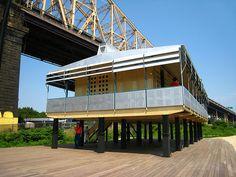 Jean Prouve's Maison Tropicale --innovative solar mitigation strategies.