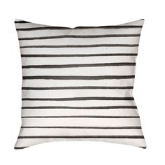 Surya Pin Striped Outdoor Pillow - WRAN005-1818
