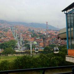Metro-cable, Medellin, Colombia