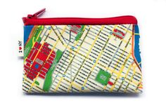 wallet change purse card holder  New York city coin by efratul