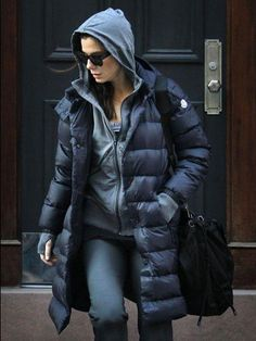 #moncler #sandrabullock Sandra Bullock wearing Moncler