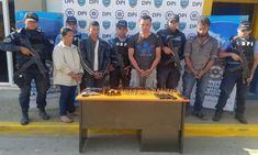 Honduras: detienen banda de forajidos con pesado arsenal