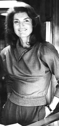 """Jacqueline Kennedy Onassis (née Jacqueline Lee """"Jackie"""" Bouvier;  July 28, 1929 – May 19, 1994) was the wife of the 35th President of the United States, John F. Kennedy, and First Lady of the United States during his presidency from 1961 until his assassination in 1963. ♥❃❋✽✾❀❃ ♥  http://en.wikipedia.org/wiki/Jacqueline_Kennedy_Onassis"""