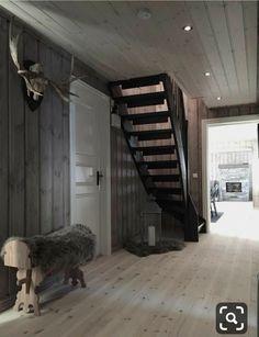 30 Unique Bonus Space Suggestions for Your House Cabin Homes, Log Homes, Cozy Cottage, Cozy House, Bonus Room Design, Mountain Cabin Decor, Scandinavian Cabin, Modern Rustic Decor, Cabin Interiors
