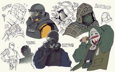 Fuse Times - Rainbow Six Seage Lion / Vigil / Mute / Kapkan and. Tom Clancy's Rainbow Six, Rainbow Six Siege Anime, Rainbow 6 Seige, Rainbow Six Siege Memes, Rainbow Art, Go Game, Game Art, Dragon Rey, Future Soldier