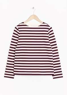 & Other Stories | Striped Cotton Top