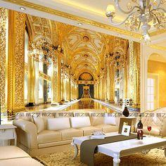 3D sitting room the bedroom Embossed luxury TV background wallpaper BJ1554 в 2019 г zal