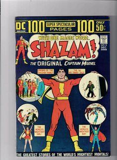 SHAZAM! #8 Gorgeous grade 9.2 Bronze Age 100-page Spectacular from DC!  http://www.ebay.com/itm/SHAZAM-8-Gorgeous-grade-9-2-Bronze-Age-100-page-Spectacular-from-DC-/302111316802?roken=cUgayN&soutkn=vsV7gJ