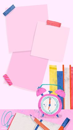 Blank pink back to school mobile phone wallpaper vector, iphone and mobile ph. Wallpaper Space, Cute Wallpaper Backgrounds, Cute Wallpapers, Iphone Wallpaper, Screen Wallpaper, Wallpaper Quotes, Back To School Wallpaper, Blank Pink, Space Watercolor